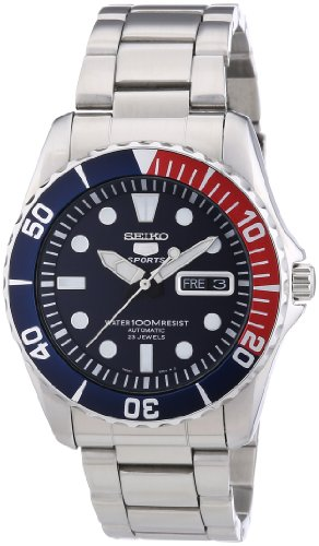 4176GFS8SwL - Seiko 5 Blue Dial Stainless Steel Automatic Mens Watch SNZF15