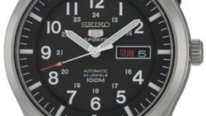 41Jl3ueunHL 300x169 - Seiko Men's SNZG15 Seiko 5 Automatic Stainless Steel Watch with Nylon Strap