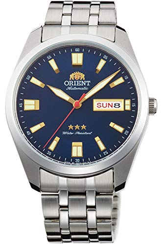 41PGgrj2tDL - Orient Men's Automatic Watch with Stainless Steel Strap, Grey, 19 (Model: RA-AB0019L19B)
