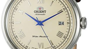 51KZJ1y3WaL 300x169 - Orient Men's '2nd Gen. Bambino Ver. 2' Japanese Automatic Stainless Steel and Leather Dress Watch