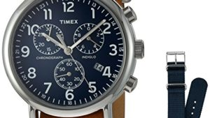 51aaJKH2KnL 300x169 - Timex Weekender Chronograph 40mm Watch