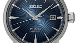 51cDjz3mkuL 300x169 - Seiko Men's Presage 23 Jewel Automatic Blue Dial Watch with, Blue, Size No Size