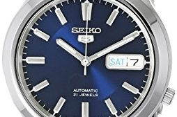 41 I2OpcrTL 254x169 - Seiko 5 Men's SNK793 Automatic Stainless Steel Watch with Blue Dial