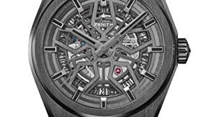 417oMXRjAIL 294x169 - Zenith Novelty Defy Classic Mens Watch Black Ceramic Case 41mm 49.9000.670/77.R782