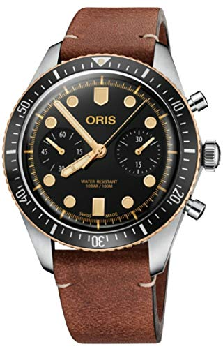 4192BF66W0pL - Oris Divers Sixty-Five Chronograph 43mm Mens Watch