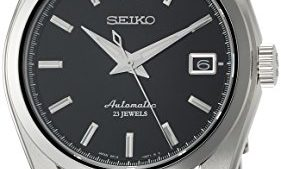41KkNyg6A2BL 281x169 - Seiko Men's Japanese-Automatic Watch with Stainless-Steel Strap, Silver, 20 (Model: SARB033)