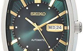 41U4n5zWFDL 277x169 - Seiko Men's Recraft Series Automatic Leather Casual Watch (Model: SNKP27)