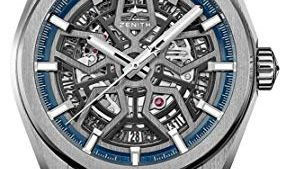 41Wmse9nwGL 286x169 - Zenith Defy Classic Blue Skeletonised Movement Watch 95.9000.670/78.M9000