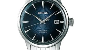 41d Q4lTKwL 300x169 - Seiko Mens Analogue Automatic Watch with Stainless Steel Strap SRPB41J1