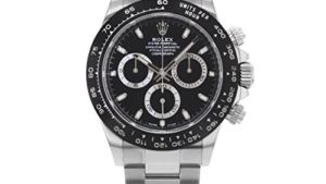 41y8UorMdaL 300x169 - ROLEX Cosmograph Daytona Black Dial Stainless Steel Oyster Men's Watch 116500