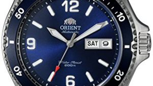 511sd3KIYQL 300x169 - Orient Men's 'Mako II' Japanese Automatic Stainless Steel Diving Watch