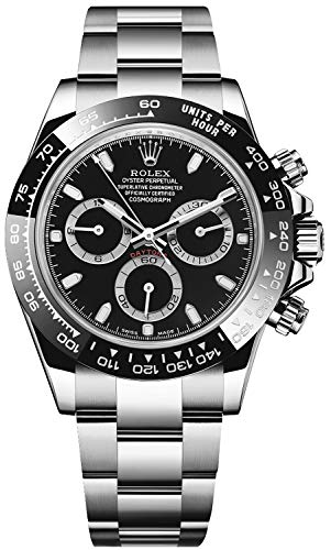 514i3z6Ou4L - Rolex New Daytona 116500 Ceramic Steel Black 2019 Box/Paper/5YrWarranty #RL269