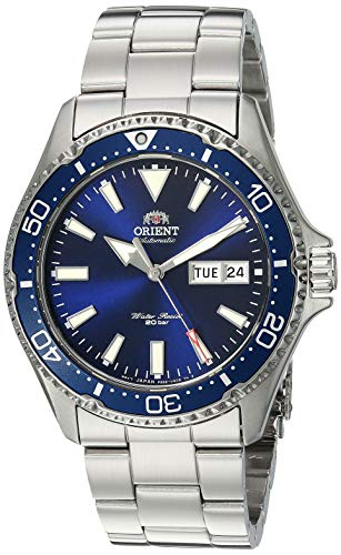 51CLZhceZ L - Orient Men's Kamasu Stainless Steel Japanese-Automatic Diving Watch
