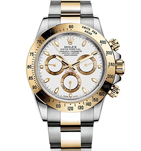 51D9WILd8zL - Rolex Daytona Grey Chronograph Steel And Yellow Gold Mens Watch 116523GYSO
