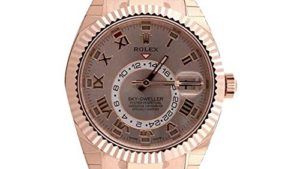 51GnawW2R5L 300x169 - Rolex Sky Dweller Sundust Dial Rose Gold Men's Watch 326935