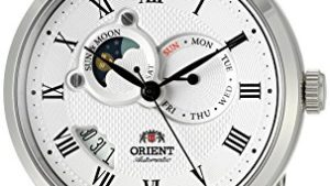 51RSV0UWT8L 300x169 - Orient Men's 'Sun and Moon Version 2' Japanese Automatic Watch