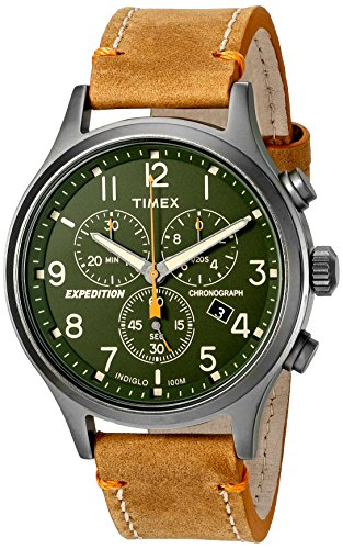 51XRpelNxrL - Timex Men's Expedition Scout Chronograph Watch