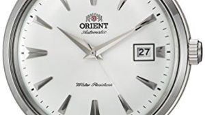41TrvuywpOL 300x169 - Orient '2nd Gen Bambino Version I' Japanese Automatic Stainless Steel and Leather Dress Watch