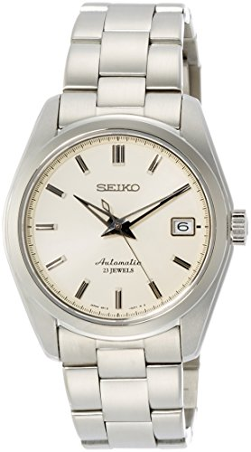 41jPLwXEqhL - Seiko Men's Japanese-Automatic Watch with Stainless-Steel Strap, Silver, 20 (Model: SARB035)