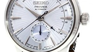 "41npmhhu8qL 300x169 - SEIKO PRESAGE Power Reserve Ice Blue Cocktail Time""Sky Diving"" SSA343J1"