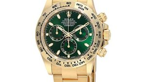 516qcot 4hL 300x169 - Rolex Cosmograph Daytona Green Dial 18K Yellow Gold Oyster Men's Watch 116508GRSO