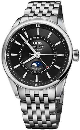 51CcU IEiBL - Oris Artix Complication Moonphase Automatic Mens Watch 915-7643-4034MB