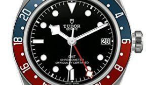 51qBQO2b4GL 300x169 - Mens Tudor Black Bay GMT Red Blue Pepsi M79830RB-0003 Watch