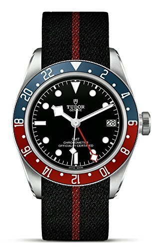 51qBQO2b4GL - Mens Tudor Black Bay GMT Red Blue Pepsi M79830RB-0003 Watch