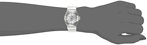21LjbSNSwFL. AC  - Omega Women's 'Constellation' Swiss Automatic Stainless Steel Dress Watch, Color:Silver-Toned (Model: 12310272055002)