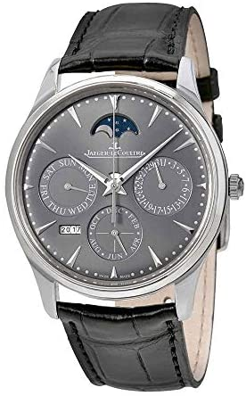 41BzVaNxY5L. AC  - Jaeger LeCoultre Master Ultra Thin Perpetual Automatic 18kt White Gold Men's Watch Q130354J