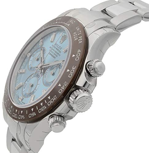 41Ih7amP4hL. AC  - Rolex Oyster Perpetual Cosmograph Daytona Ice Blue Dial Automatic Mens Chronograph Watch 116506