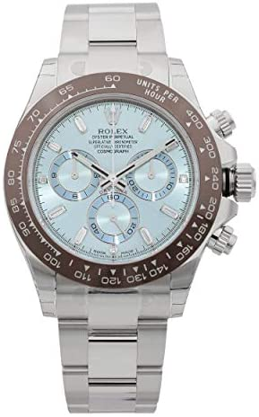 41P4spCeDEL. AC  - Rolex Oyster Perpetual Cosmograph Daytona Ice Blue Dial Automatic Mens Chronograph Watch 116506