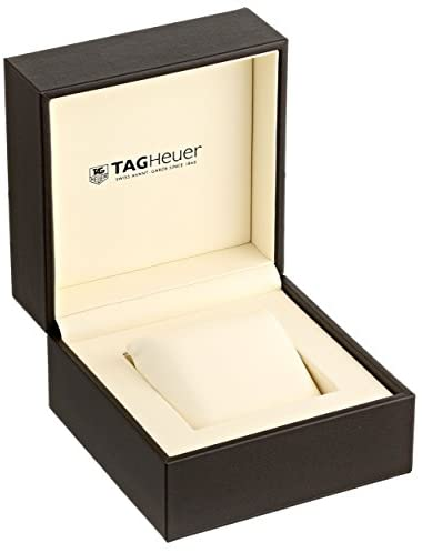 1619723837 642 41sgn7ITCdL. AC  - Tag Heuer Men's 'Carrera' Silver Dial Brown Leather Strap Watch WAS2112.FC6181