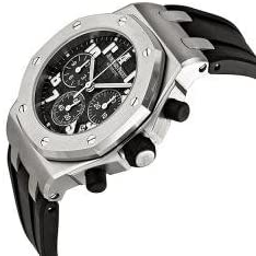 31LTiLC8NYL. AC  - Audemars Piguet Royal Oak Offshorel Chronograph Black Dia Mens Watch 26283ST.OO.D002CA.01