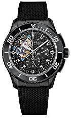 31if4hw3iSL. AC  - Zenith Stratos Spindrift Chronograph Carbon Fiber Dial Fabric-Covered Rubber Mens Watch 752060406121R573