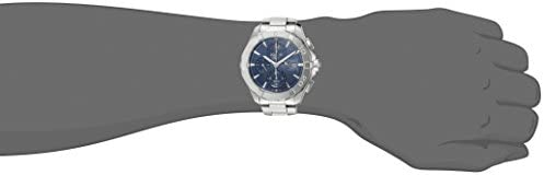 31kCEV8kZeL. AC  - TAG Heuer Men's 'Aquaracer' Swiss Automatic Stainless Steel Dress Watch, Color:Silver-Toned (Model: CAY2112.BA0927)