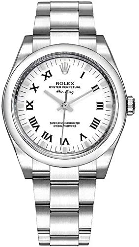 411ViOXCCyL. AC  - Rolex Oyster Perpetual Air-King 114200 34mm 904L Stainless Steel Oyster Bracelet Watch