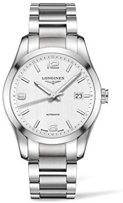 418APwQcrLL. AC  - Longines Conquest White Dial Stainless Steel Watch L27854766
