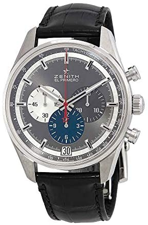 41BMVAsF0xL. AC  - Zenith Chronomaster El Primero Chronograph Automatic Grey Dial Mens Watch 03.2040.400/26.C496
