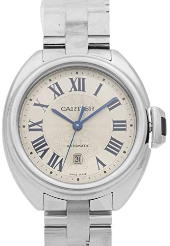 41DVHHCkcCL. AC  - Cartier Cle Automatic Ladies Watch WSCL0005