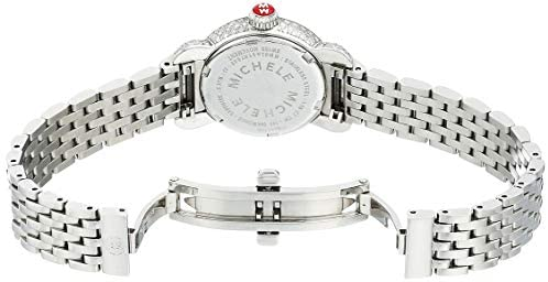 41GubyJ3LVL. AC  - Michele CSX-26 Diamond Mother of Pearl Dial Stainless Steel Ladies Watch MWW03A000230