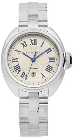 41Vo8UciCAL. AC  - Cartier Cle Automatic Ladies Watch WSCL0005