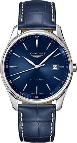 41eoo18LRFL. AC  - Longines Master Automatic Sunray Blue Dial Men's Watch L2.893.4.92.0