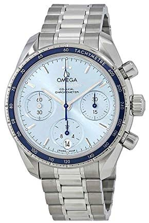 41erb6dqTtL. AC  - Omega Speedmaster Chronograph Automatic Ladies Watch 324.30.38.50.03.001
