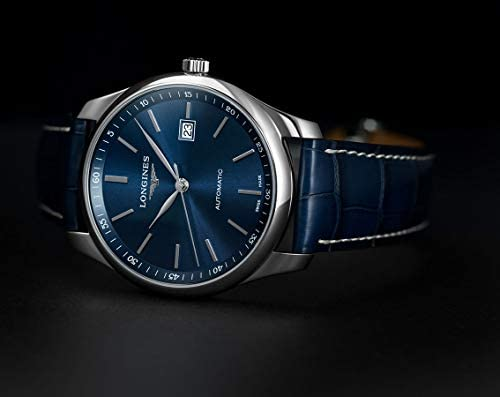 41hLUM13GmL. AC  - Longines Master Automatic Sunray Blue Dial Men's Watch L2.893.4.92.0