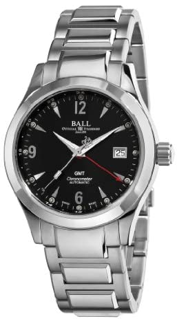 41o2EPNKJ1L. AC  - Ball Men's GM1032C-S2CJ-BK Engineer II Ohio Black GMT Dial Watch