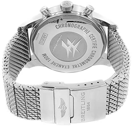 514gUiDgrIL. AC  - Breitling Transocean Chronograph Unitime AB0510U4/BE84-152A