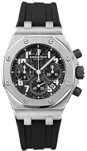 515rrcAXVKL. AC  - Audemars Piguet Royal Oak Offshorel Chronograph Black Dia Mens Watch 26283ST.OO.D002CA.01