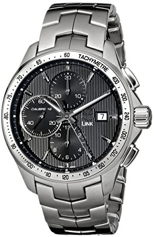 518h0NSCOuL. AC  - TAG Heuer Men's CAT2010.BA0952 Link Stainless Steel Watch