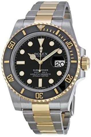 51AgInOuE L. AC  - Rolex New Submariner 116613 Yellow Steel Gold Ceramic Black Box/Paper/WTY #RL81